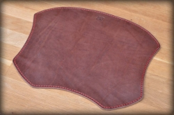 LK leather mouse pad brown