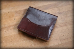 Leather case for cards