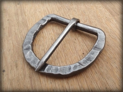 Hand forged belt buckle no.1