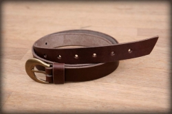 Women's / children's leather belt ELEGANT