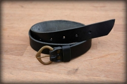 Women's / children's leather belt GOTHIC