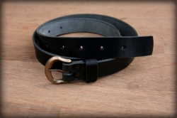 Women's / children's leather belt ELEGANT I