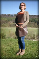LK leather apron pork