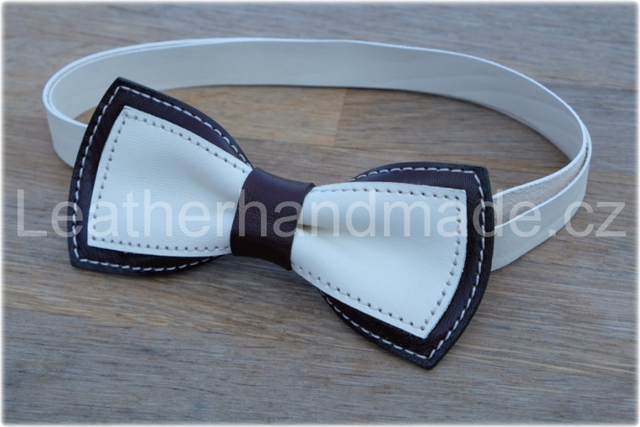 LK leather bow tie - kopie