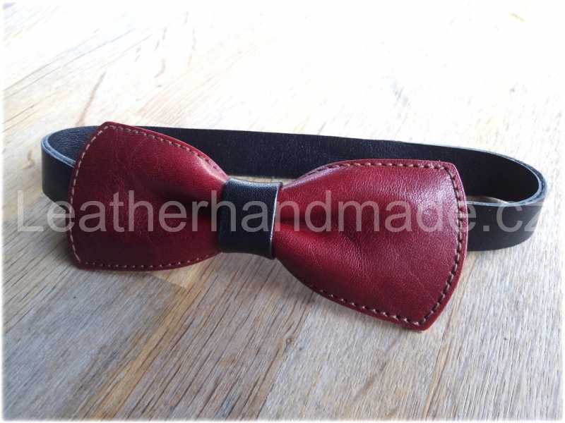 LK leather bow tie - kopie - kopie
